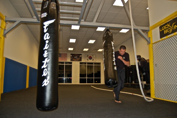 Plowing Thru the New Heavy Bag